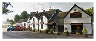 Failand Inn and its location near Bristol, Somerset